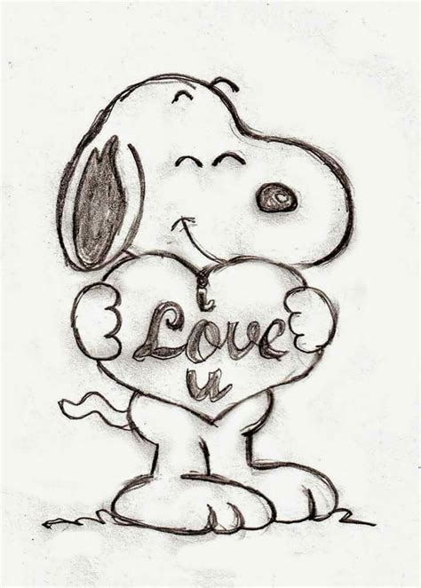 snoopy drawing ideas  pinterest   draw