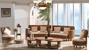 Meuble Salon Moderne : meuble en rotin pour un int rieur moderne et authentique ~ Premium-room.com Idées de Décoration