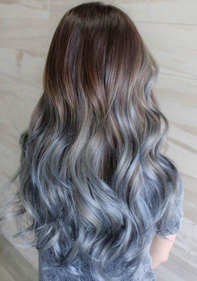 hair ombre styles 15 blue ombre hairstyles for 3764