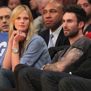 Adam Levine's Supermodel Girlfriend Anne Vyalitsyna Opens ...