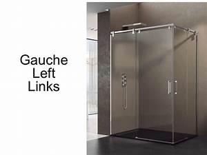 Porte Coulissante 120 Cm : paroi de douche accessoires largeur 70 longueur 70 120 ~ Dailycaller-alerts.com Idées de Décoration