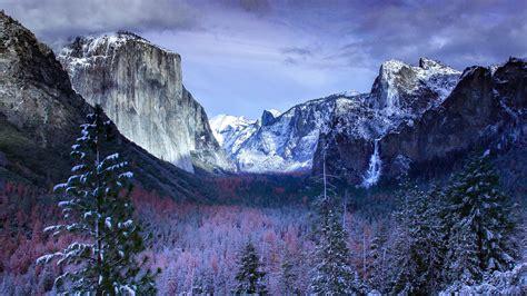 wallpaper yosemite valley yosemite national park winter