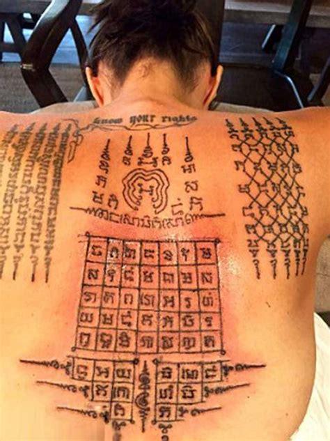sak yant magic tattoos amazing thailand
