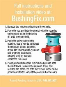 Jeep Compass Manual Transmission Shift Repair Kit W