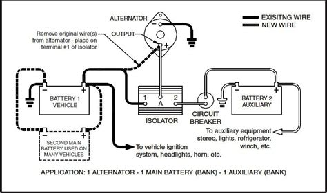 Dual Battery Isolator Wiring Diagram by Dual Batteries Ford Truck Enthusiasts Forums