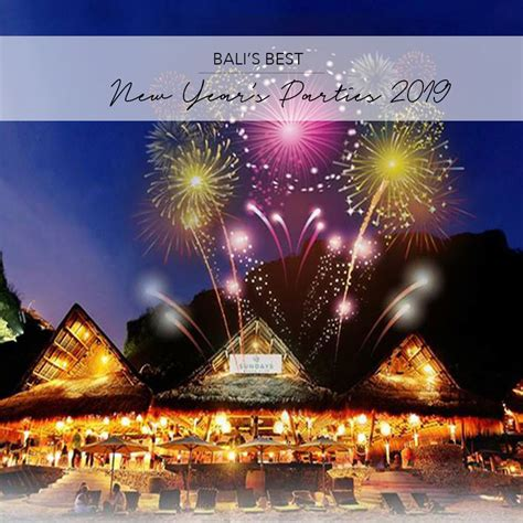 New Year Picture by The Best New Year S In Bali 2018 2019