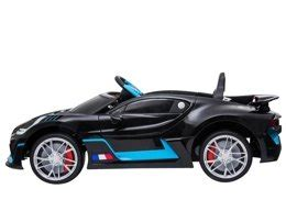The car is named after french racing driver albert divo. Electric Ride-On Car Bugatti Divo Black Painted   Electric ...