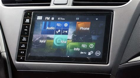android car honda connect system is basically an in car tablet with
