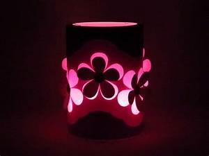 Blumen Basteln Vorlage : rosa laterne mit blumen bastelanleitung mit vorlagen ~ Frokenaadalensverden.com Haus und Dekorationen