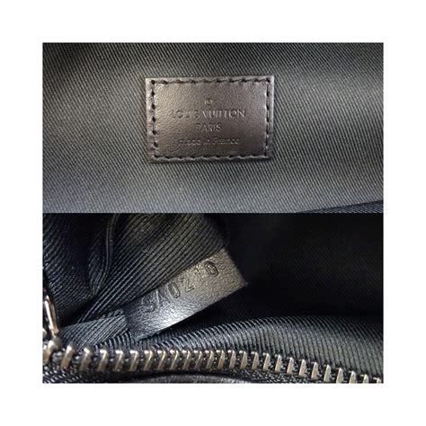 louis vuitton discovery bum bag mens waist  monogram eclipse campus black dh eladycom
