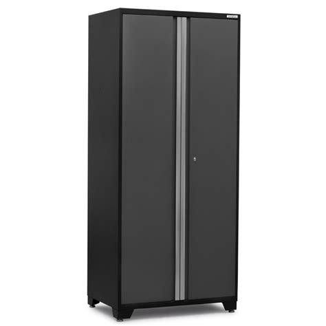 new age garage cabinets pro series newage pro series garage 36 quot locker cabinet in gray 52005