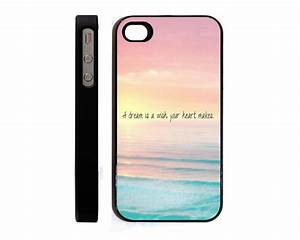 Dream Hipster Quote Cute Ombre hard cell phone case for ...
