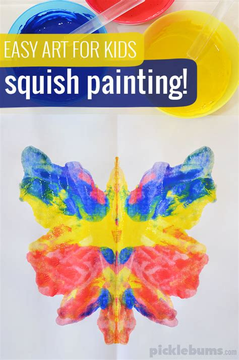 easy for squish painting picklebums 707 | squish painting