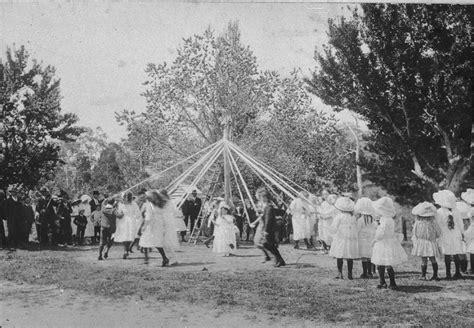 Maypole Dancing And May Day