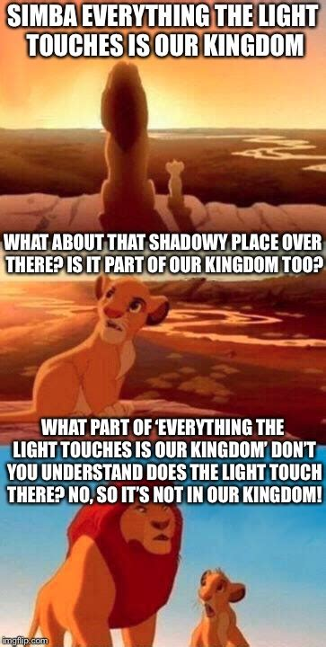 Everything The Light Touches Is Our Kingdom by The Kingdom In King Imgflip