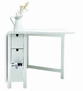 Meuble Avec Table Rabattable : 10 meubles d appoint pour la cuisine galerie photos d 39 article 7 10 ~ Teatrodelosmanantiales.com Idées de Décoration
