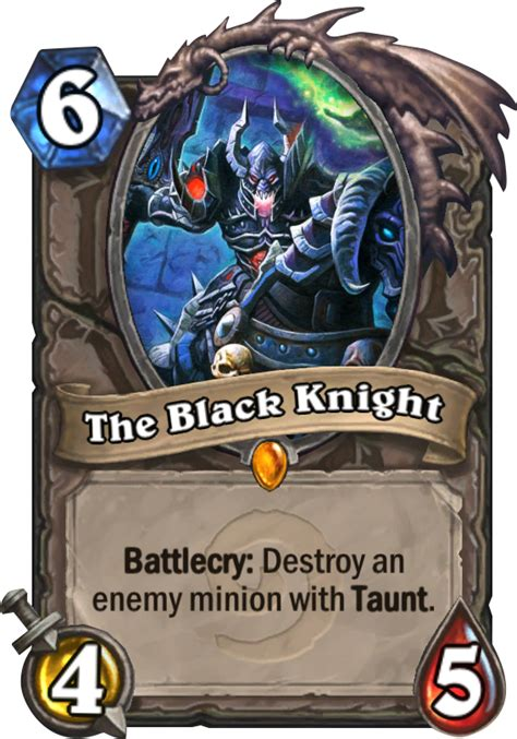 best priest deck to beat lich king the black hearthstone card