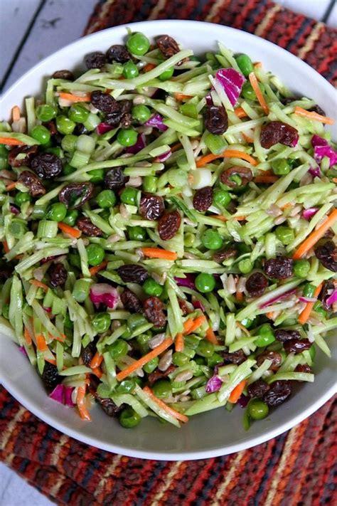 slaw recipe broccoli slaw with ramen noodles weight watchers