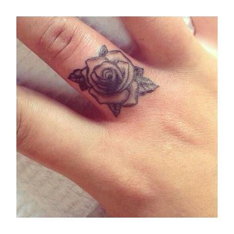 mini tattoo finger tattoo tattoo placement rose tattoo