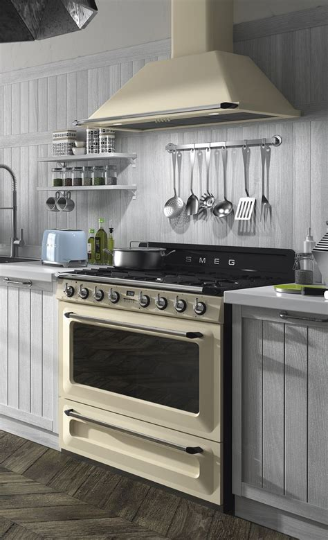 technology  style range cooker kitchen smeg kitchen