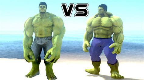 Hulk Vs The Incredible Hulk  Epic Battle Youtube