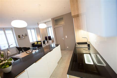 cuisine design lyon décoration architecture d 39 intérieurs appartement lyon 2