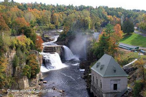 Rainbow Falls (Ausable Chasm / Adirondacks, New York, USA)