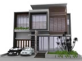 FLOWERS: Minimalist House Design   Image Model Rumah Idaman