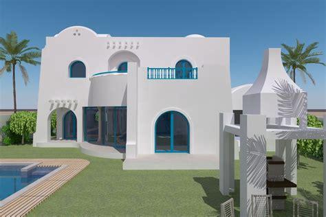 plan maison tunisie architecture maison moderne