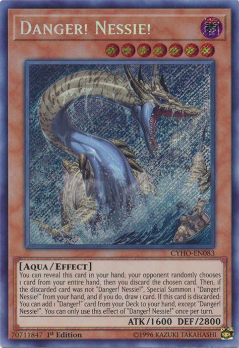 danger nessie cards gi oh yu yugioh tsuchinoko card thunderbird cryptid scr wikia reblog latest cartajouer cybernetic horizon purchase