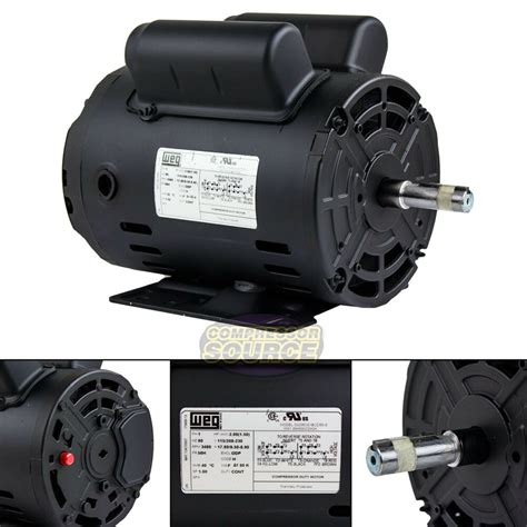 Power Electric Motor by 2 Hp Power Single Phase Heavy Duty Electric