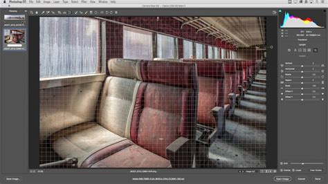 guided upright feature  adobe camera