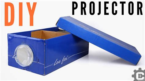 smartphone projector  home diy shoe box