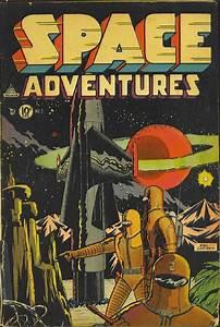 Science Fiction Comics  Vol 1  Space Adventures  Golden