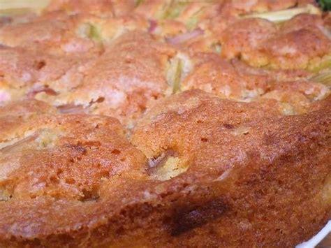 recettes de gâteau à la rhubarbe de une normande en cuisine