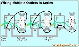 Grounded Outlet Wiring Diagram