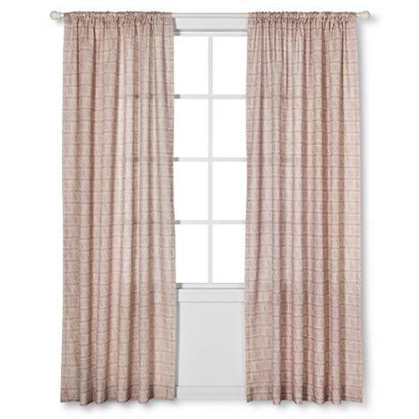 nate berkus diagonal print sheer curtain panel target