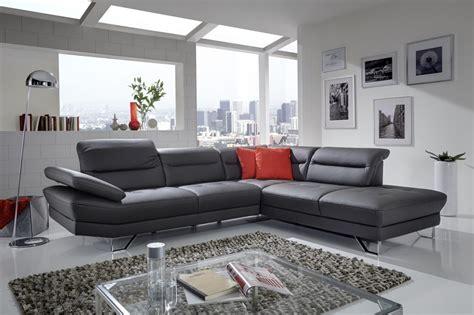 canapé d angle design canapé angle cuir ou tissu 5 places design affec x