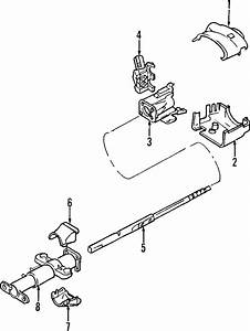 Chevrolet S10 Steering Column Tube