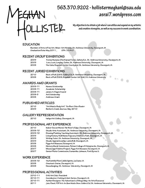 production artist resume artist resume resume ideas