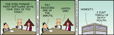 dilbert cartoons   project management