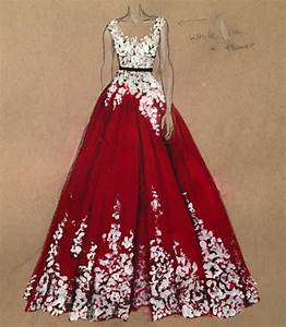 Beautiful Dress Drawings by Dubai Fashion Designer, 3Alya ...