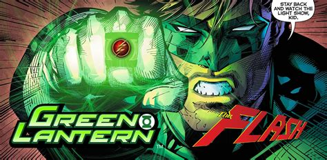 dc comics rebirth spoilers where is green lantern gardner who is the fastest alive