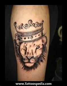 King Crown Tattoo Designs For Men