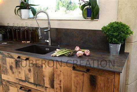 cuisine en vieux bois cuisine bois et metal ilot de cuisine chez ikea de modle