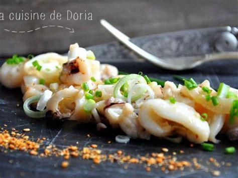 cuisine de doria recettes de calamars et piment