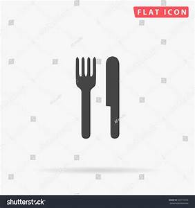 Fork And Knife Icon Vector. - 363710339 : Shutterstock