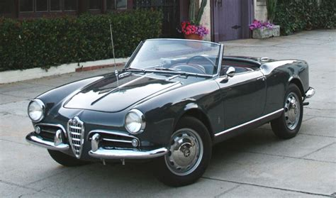 1956 Alfa Romeo Spider  Information And Photos Momentcar