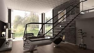 Haus Mit Galerie Im Wohnzimmer : wohnzimmer 3 interior wohnzimmer haus 3d ~ Orissabook.com Haus und Dekorationen
