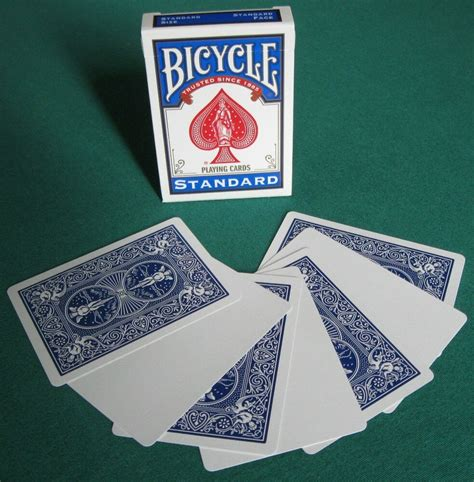 If you prefer a gadget over a deck of cards, consider an electronic card game. 1 DECK Bicycle STANDARD RED BACK-BLANK FACE gaff magic playing cards   eBay